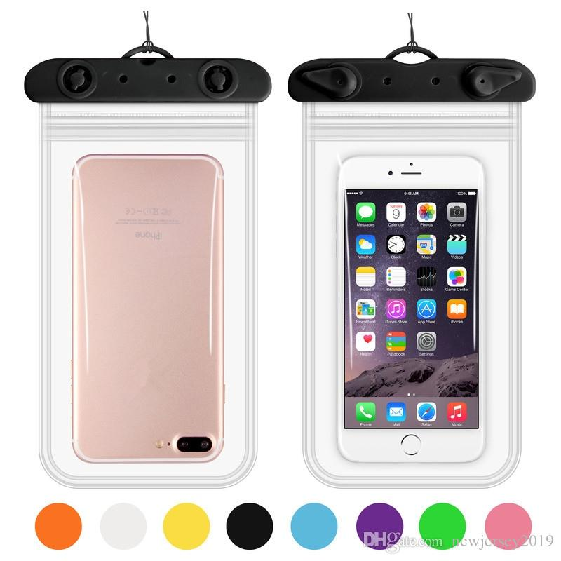 the latest 766e5 7791b Maphissus 6.2 Universal Waterproof Underwater Phone Case Dry Bag for All  Smartphone Transparent Cover Swimming Accessories #226086