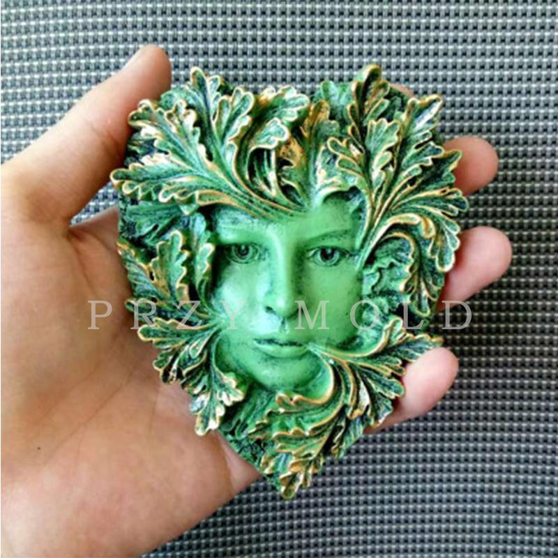 Przy Silicone Mold Exclusive Leaf Pendant Woman Classic Handmade Molds For  Home Decoractions Aroma Stone Molds Q190430