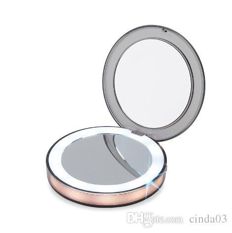 Klug Vintage Kosmetik Spiegel Mini Make-up Compact Taschen Spiegel Blume Schmetterling Metall Tragbare Doppel-seite Falten Make-up Spiegel Spiegel