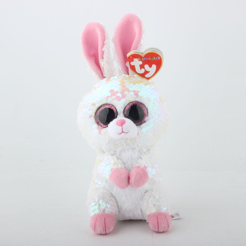 2019 Ty Sequins Flippables 6 15cm Bonnie The Rabbit Plush Regular Big Eyed  Stuffed Animal Collection Doll Toy From Curd 4708ada1a1e5