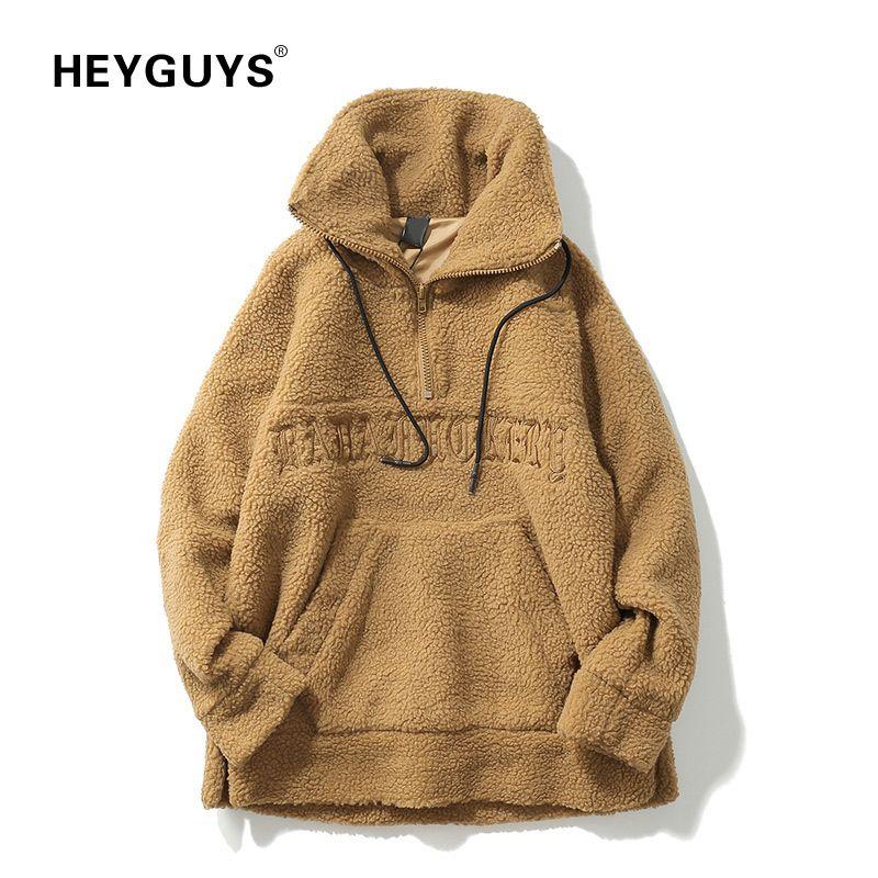 3de5cde9f2209 2019 HEYGUYS New Design Sweatshirts Europe Us High Street Sweatershirts Men  Cool Hip Hop Wear Hot Selling Men Warm Wear Winter D19010502 From Tai03