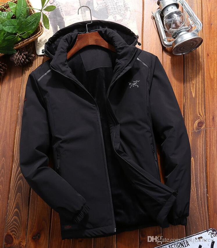 dc5a3036b hot selling Men Wear Thick Winter Outdoor Heavy Coats mens jackets Clothes