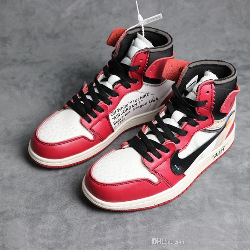 2af9fe1a2a83 1s 1 Basketball Shoes Mens Sneakers Mens High OG 10X UNC White Royal Blue  OG BG Top3 Sport Shoes Men Size 40 47 Mens Sneakers Basketballs From ...