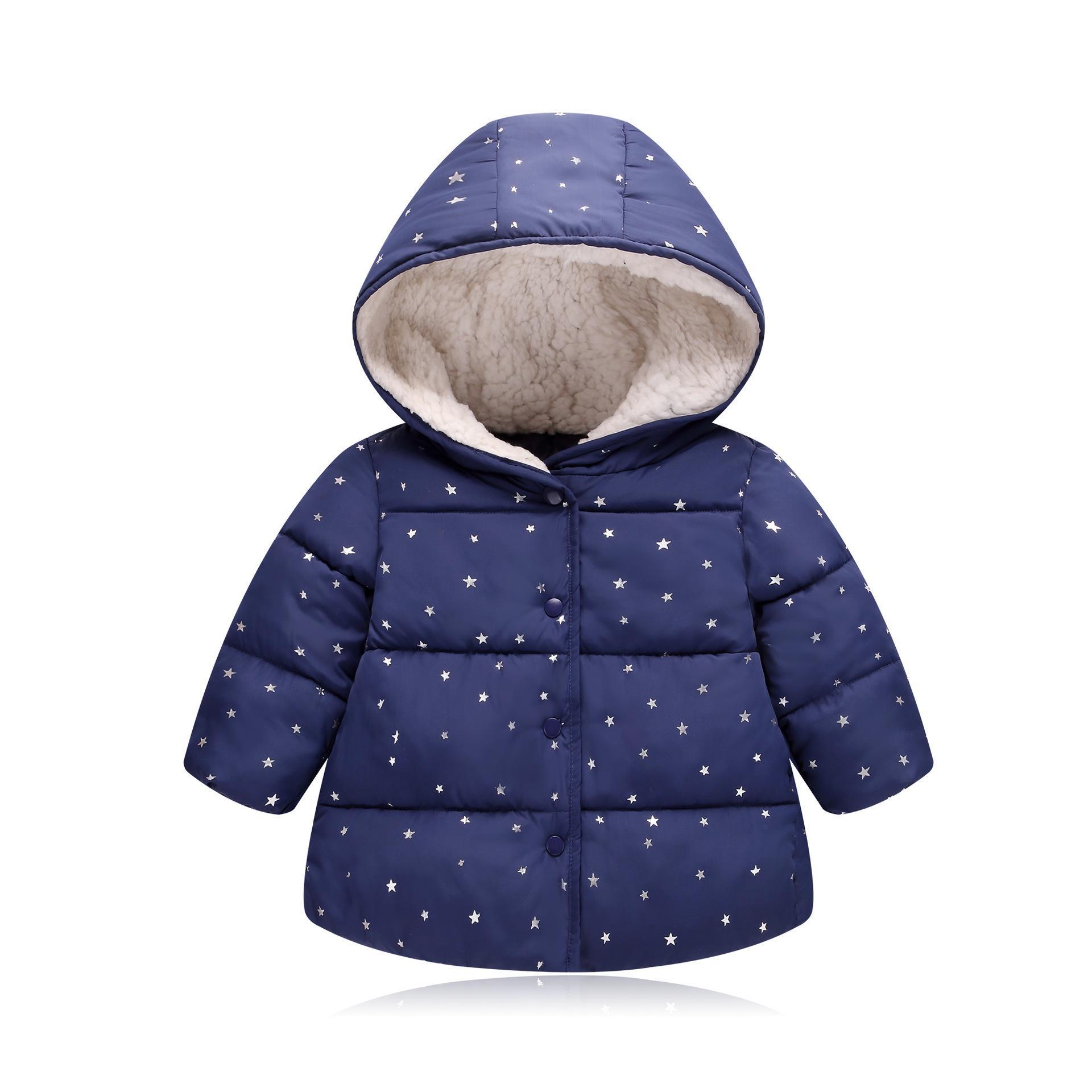 b42657bd5e59 Good Qulaity Boys Coats 2019 Fashion Winter Warm Thick Fleece Velvet ...