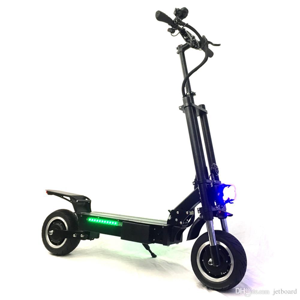 Fast Electric Scooter >> Fast And Powerful Kick Scooter Electric With Seat 3200w Strong Power Fat Tire Fast Speed E Scooter Adult Scooter Electric Skateboard