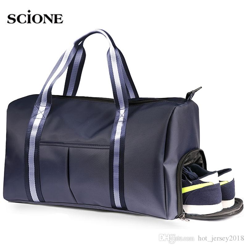 522b8c0c10e4 2019 Sports Bags For Women Fitness Men Bag Gym Sac De Sport Dry Wet Nylon  Bolsas Training Shoes Tas Traveling 2018 Yoga Sac XA589WA  235214 From ...