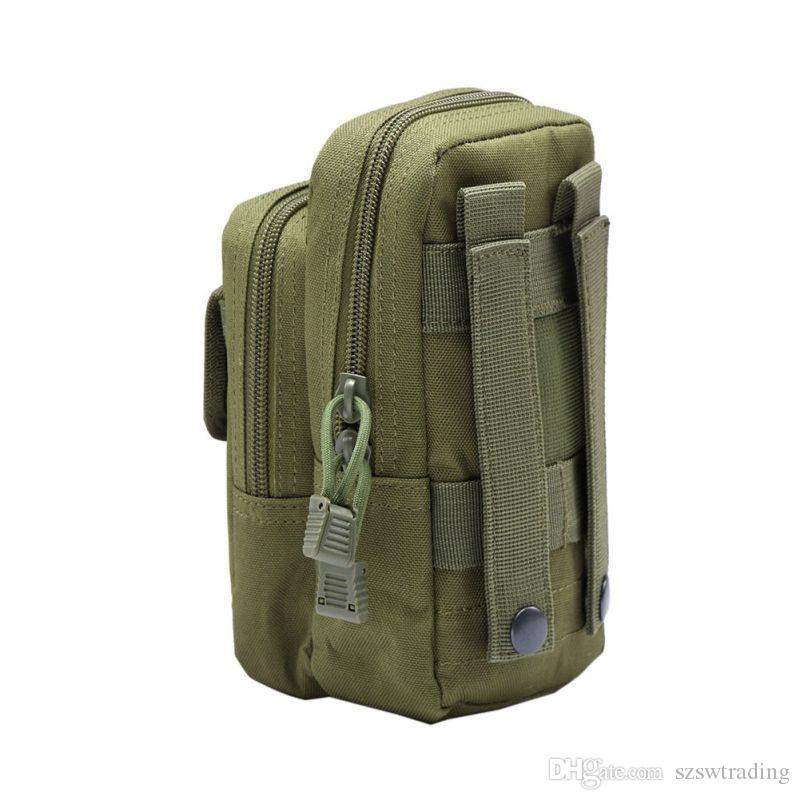 927904f3f831 Nylon Tactical Molle Waist Pack Tools Utility Sundries Pouch Equipment  Packs Bags Outdoor Bags #767875