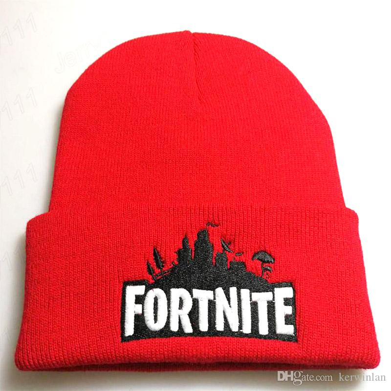 f7b2f2c909f Fortnite Hats Fortnite Beanies Fortnite Battle Knitted Hat Hip Hop  Embroidery Knitted Caps Teenager Winter Warm Skull Beanies Fortnite Hats  Knitted Caps ...