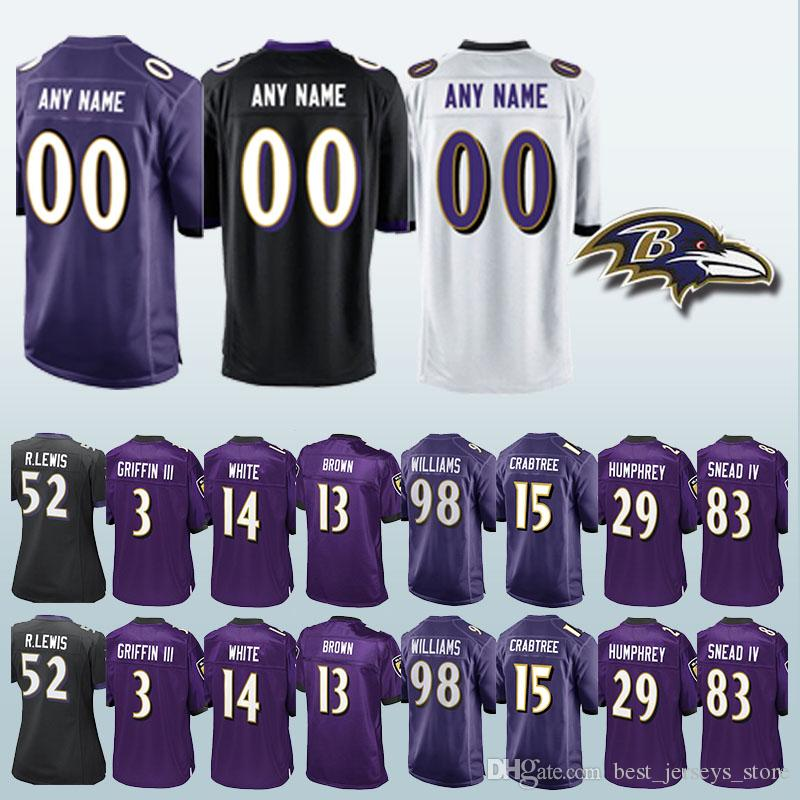73dc868c5 2019 98 Brandon William Baltimore Jerseys Raven 92 Haloti Ngata 18 Breshad  Perriman 75 Jonathan Ogden Can Be Customized Jersey From  Best_jerseys_store, ...