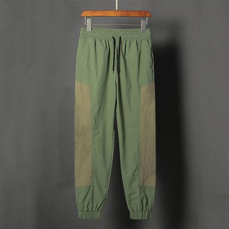 Spring Designer Sport Brand Pants Mens Womens Contrast Color Drawstring Trousers Active Full Length Loose Running Pants Top Quality B100289V