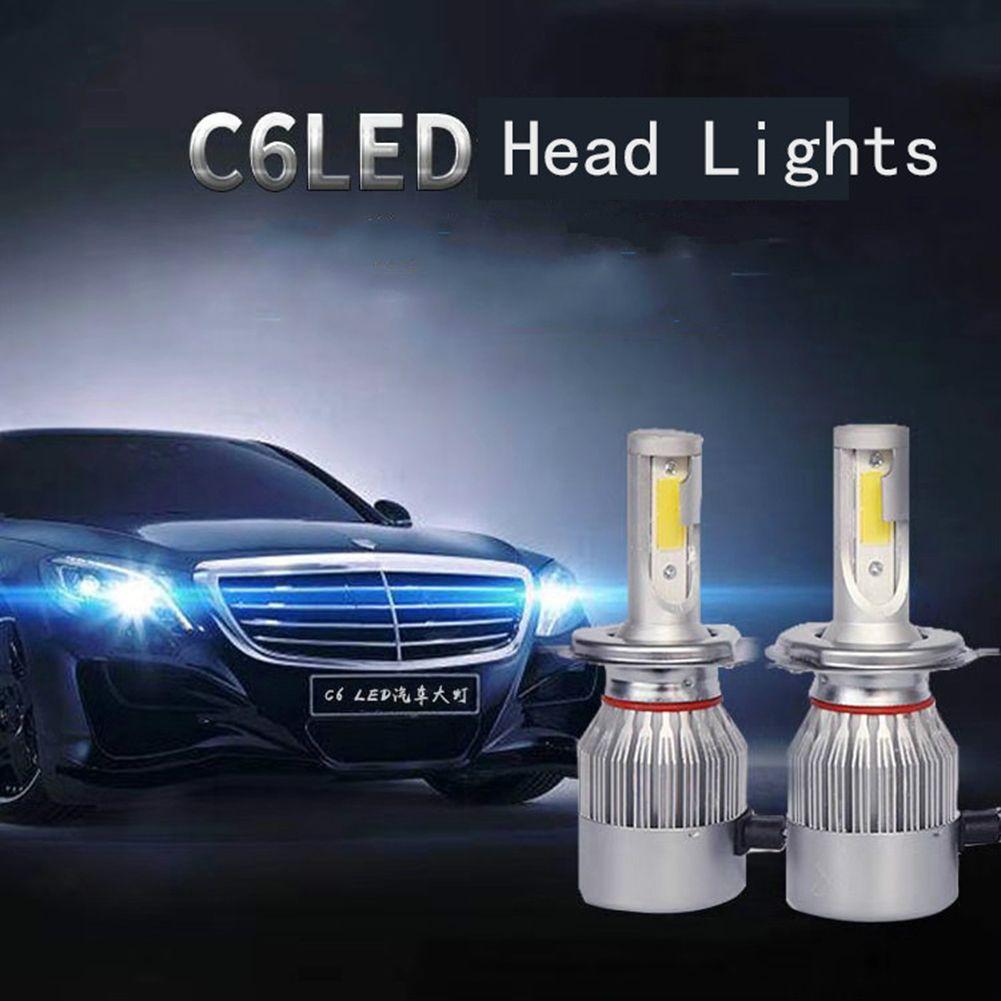 universal high power auto bulbs c6 car led headlights automotiveuniversal high power auto bulbs c6 car led headlights 2pcs