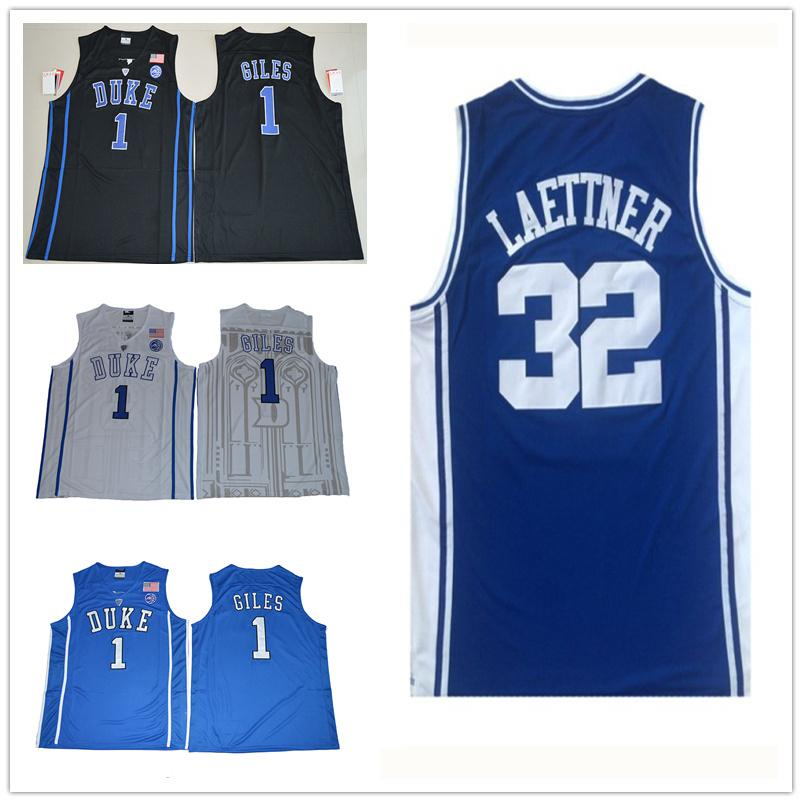 640ba9db6b35 Großhandel Herren Harry Giles Jersey Duke Blue Devil Christian Laettner  College Hohe Qualität Genäht Basketball Trikots Größe S XXL Von  Lisi20180102