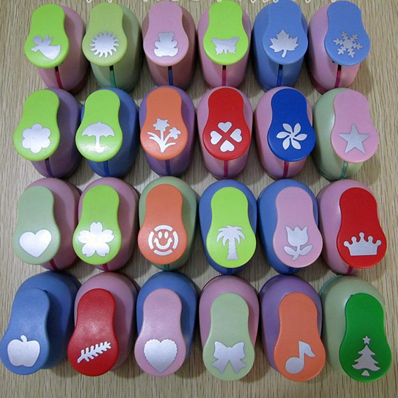 Big Size DIY Craft Hole Puncher Children Kids Handmade Craft Gift Scrapbook Paper Cutter Scrapbooking Punches Embossing Tools