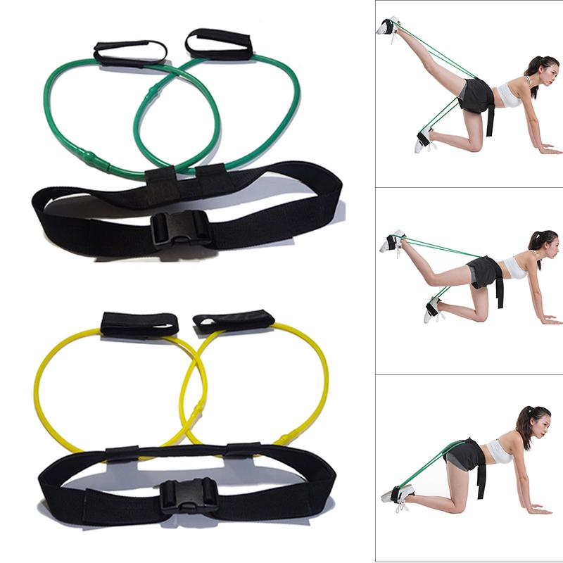 Women Booty Butt Band Workout Fitness Resistance Belt Tone Firm Gym Exercise Workout KH889