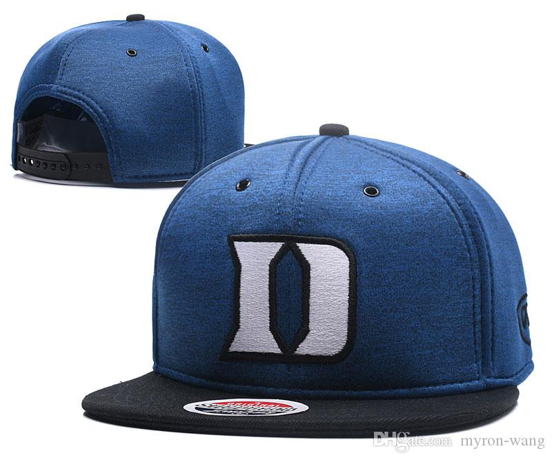 2019 Wholesale College Basketball Hats Duke Blue Devils Caps Blue Gray Snapbacks  Hat Adult And Youth Cap From Myron Wang 3bef3d977cf