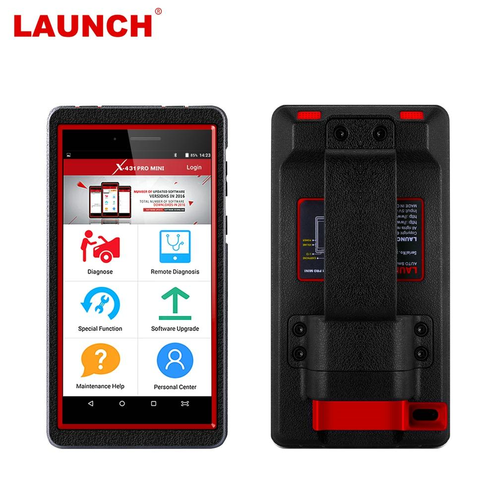 Launch X431 Pro Mini OBD2 Car Diagnostic Tool Full System Wifi/Bluetooth  ECU Coding And Activation OBD 2 Automotive Scanner
