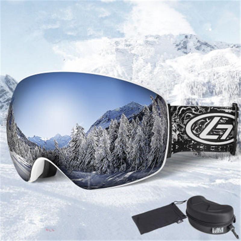 ea3faa7935d Winter Double Anti-fog Ski Goggles Men Women Snow Sports Snowboard ...
