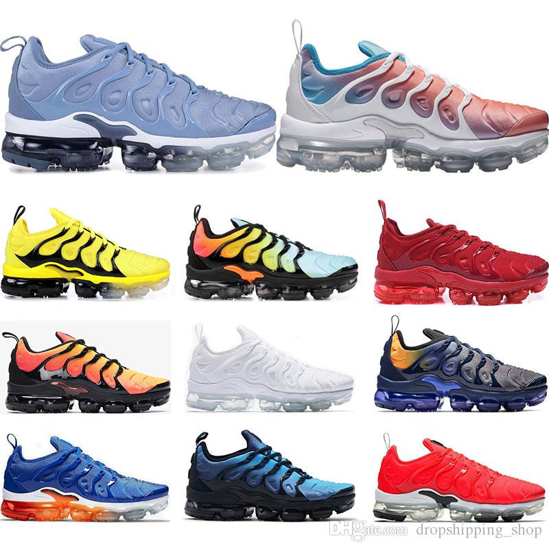 ca408fc160 Cheap Running shoes for mens PURE PLATINUM Rainbow Red China work bule Pink  Sea Volt white black women sports sneaker trainer size 36-45