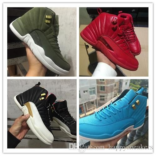 827475b32f New Colors, 12S XII Basketball Sneakers Chinese New Year All Red Black Gray  Retroes 1 Shoes