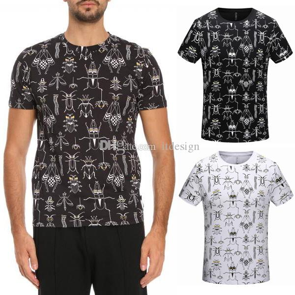 bdc8e9822a9e 3D Printed Animal T Shirt For Men'S Crew Neck Cotton Short Sleeves ...