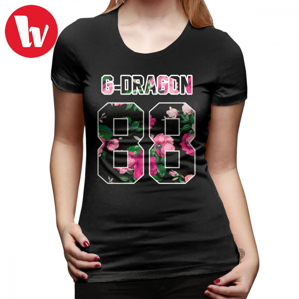 47265d7dd Gdragon T Shirt G Dragon Colorful Flowers T Shirt Casual O Neck Women Tshirt  Trendy Short Sleeve Oversized Ladies Tee Shirt Shirt Shirts Buy Tees From .