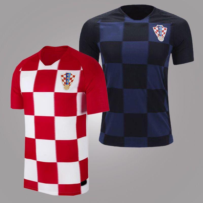 300737b8f8e 2018 World Cup Croatia Soccer Jerseys 11 MANDZUKIC Jerseys 10 MODRIC ...