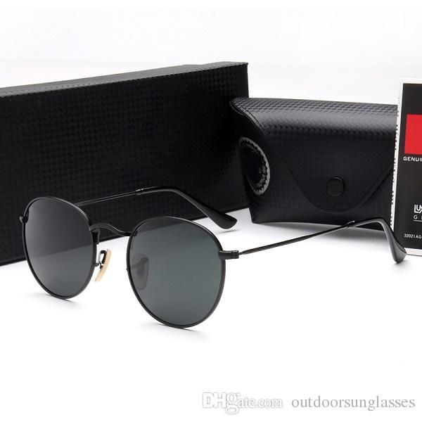 Rayban Sonnenbrille Designer Black Avec Mode Rouges Rb3447 Soleil Cat De Lunettes Eye kiuwOPZXT