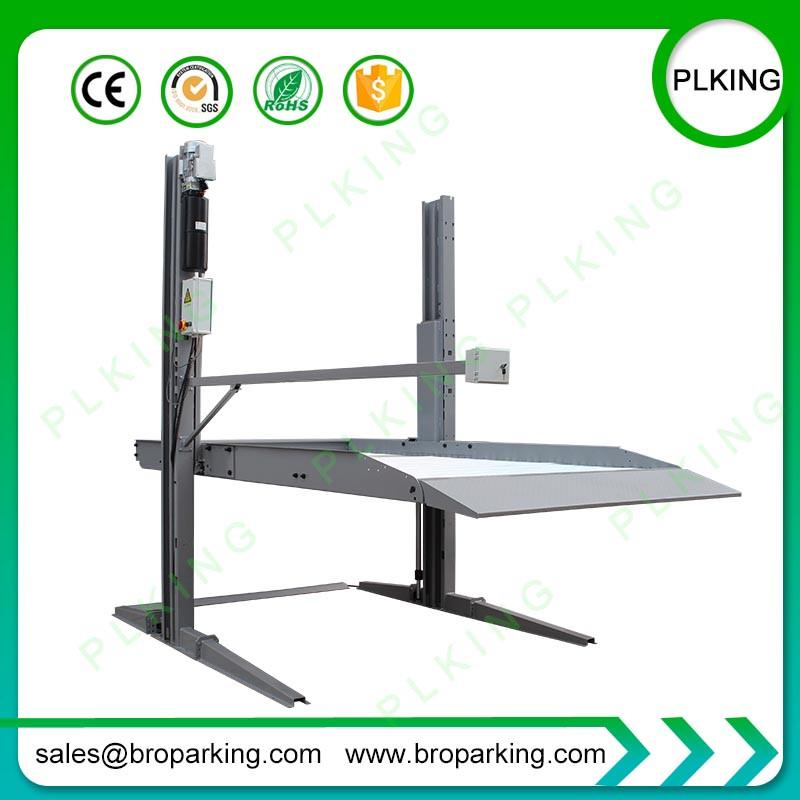 2 Post Car Lifts for Home Garage Double Auto Parking