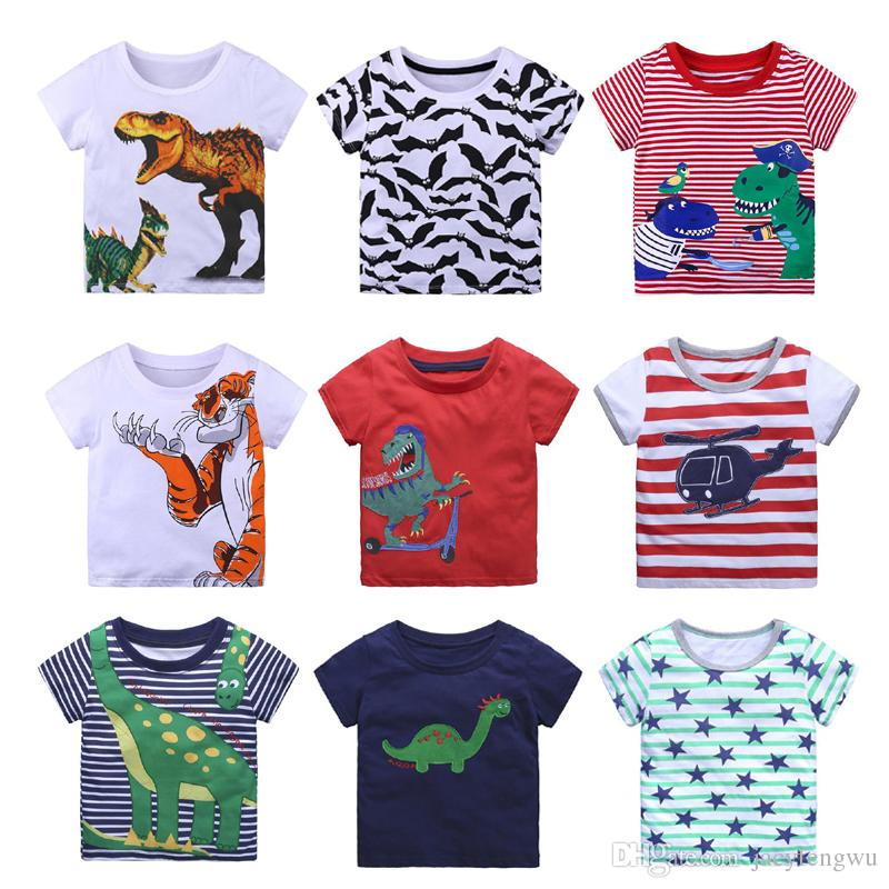 c65d1639cc9b 2019 40styles Quality Kids Designer Clothes Boys Children Kids Shirt Boy  Tops Students Tees Sweater Shirt Casual T Shirts Outfits 120CM XZT065 From  ...