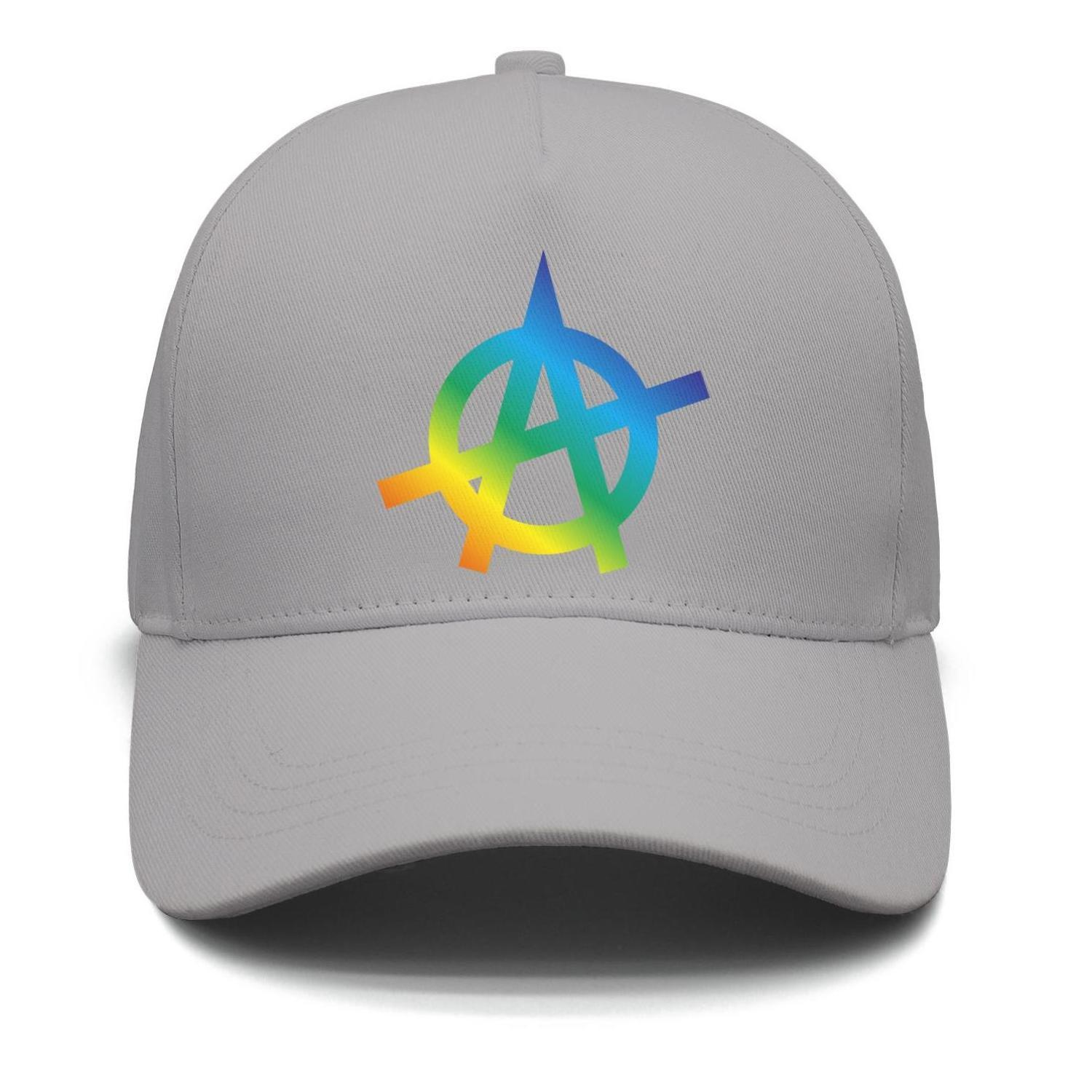 9a69ae460 Sons of Anarchy Gay pride rainbow logo grey mens and womens trucker cap  baseball styles custom design your own personalized youth hats