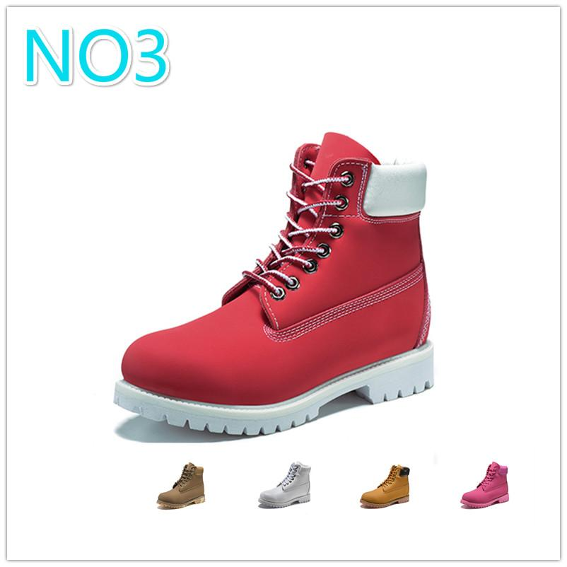 Original mens women winter boots chestnut black white red blue Grey Martin outdoor womens men designer boot size 5.5-11 fast shipping 3A 03