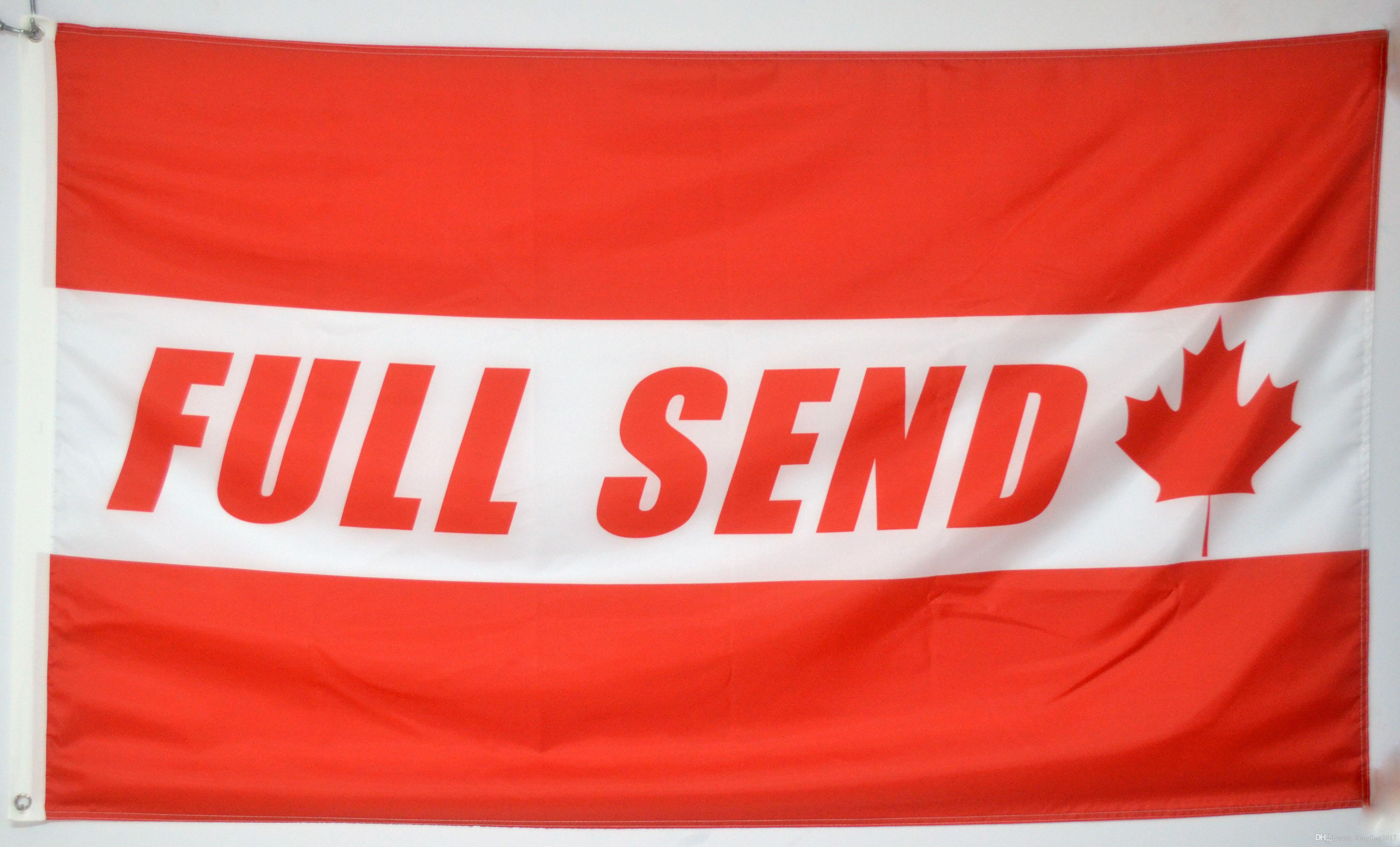 Full Send Banner Flag Nelk Nelkboys for The Boys College Dorm Party Hang  Sign (Canada)