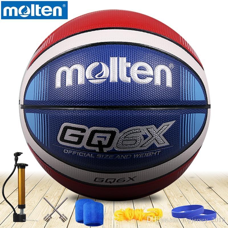 76d2582fac33d Acheter Ballon De Basket Fondu Original GQ6X / GQ5XNEW Marque De Haute  Qualité Véritable Matériel En PU Fondu Officiel Taille6 / 5 De Basket Ball  # 15238 De ...