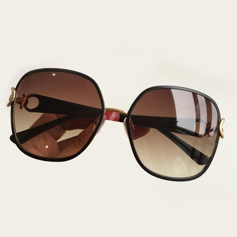b6fa79f0fd3 Vintage Round Sunglass Oversized Lens Mirror Sunglasses Women 2019 Brand  Designer Acetate Frame Lady Sun Glasses Lady Cool Retro Polarized Sunglasses  ...