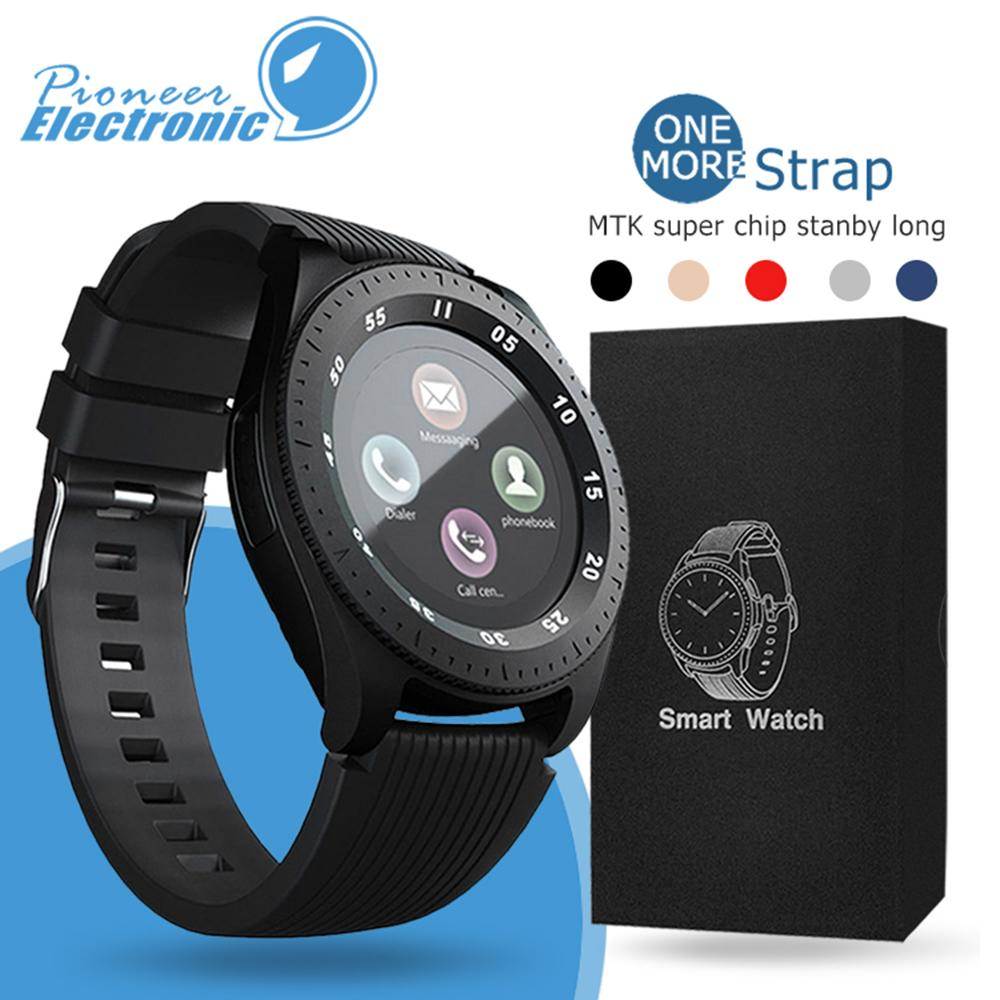 Z4 Bluetooth Smart watch Wristband Android 1.54 inch LCD Smart Watches With Camera TF SIM Card Slot Gift Watches Strap With Retail Package