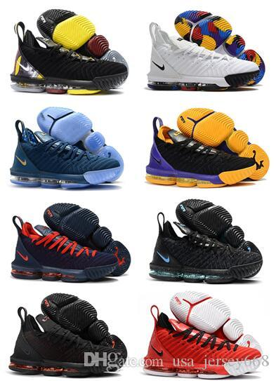 d32af08b7db 2019 2019 MEN New Colorways Lebron 16 XVI King I Promise Outdoor Shoes  James 16 Outdoor Shoes 16 Basketball Shoes Size Us7 12 From Usa jersey668