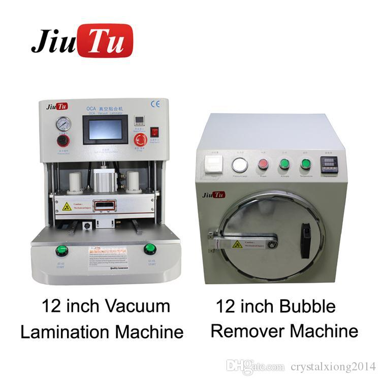Cracked Phone LCD Screen Repair Machines Automatic OCA Vacuum Lamination  Bubble Remover Machine For iPhone X XS XR Xs Max