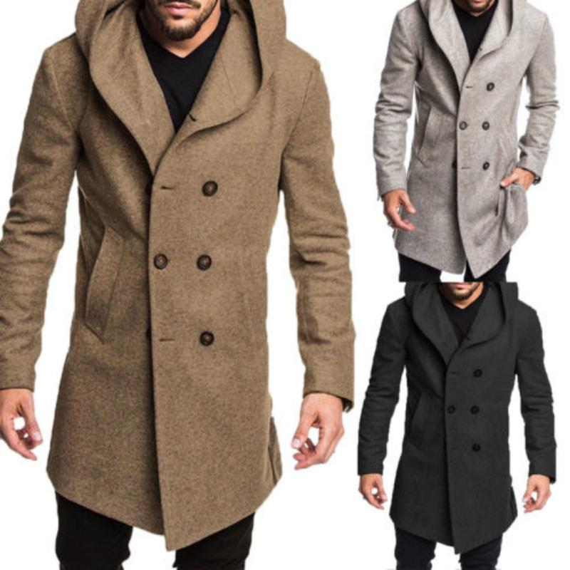 74f0e30903c1 Cheap Mens Red Double Breasted Coat Best Double Breasted Long Coat Men