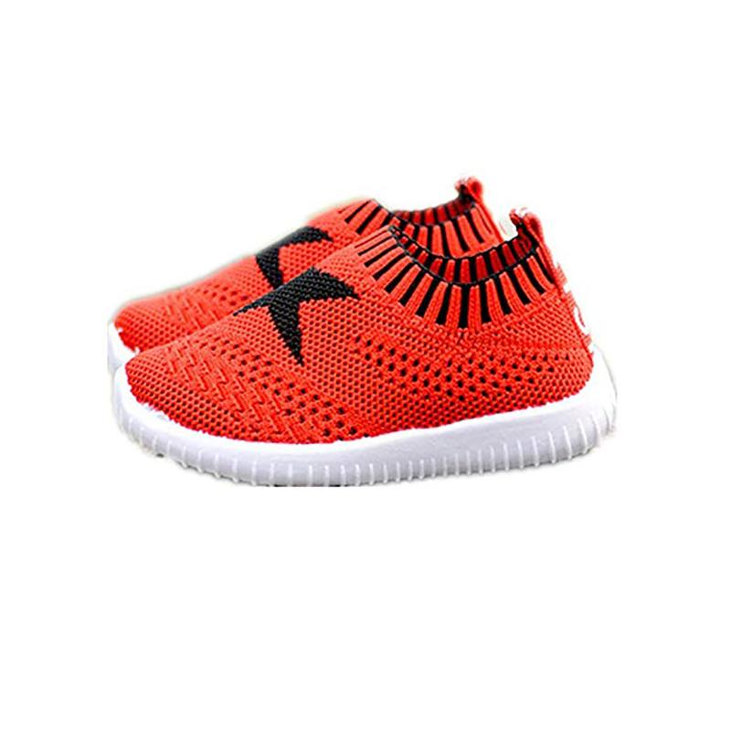 b78ee6387018 2019 Toddler Baby Breathable Lightweight Mesh Slip On Sneaker For Boys And  Girls Baby Shoes Mr001 From Askkit
