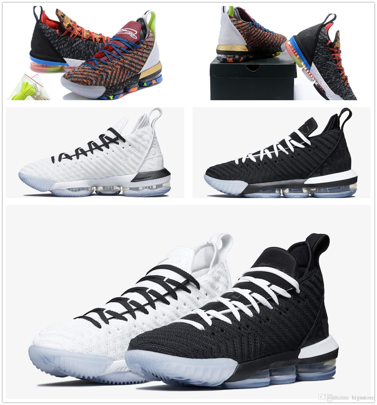 02f5c544b4d 2019 LeBron Shoes James 16 I M King LeBron 16 Equality Lebron XVI EP 1 Mid  Lakers Size Us7 Us12 From Bigsstore