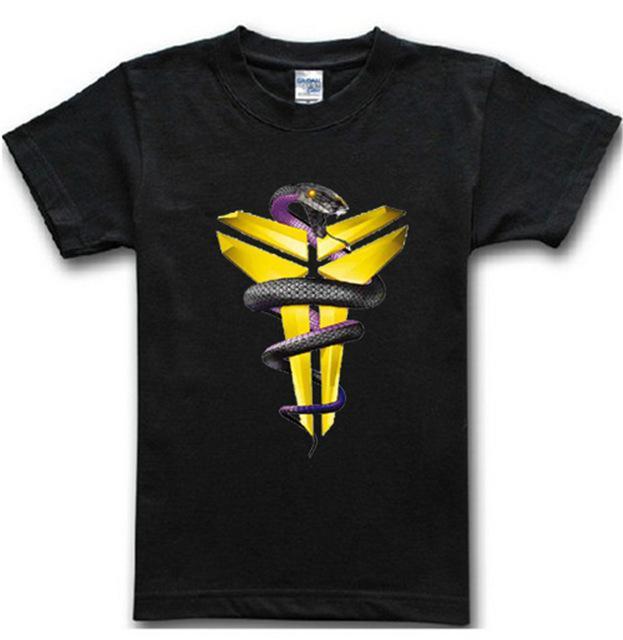 best service 173b7 d417b Black Men T-shirt Basketball Star Kobe Bryant Tees Fitness Sport Jersey Hip  Hop Short Sleeve T Shirt
