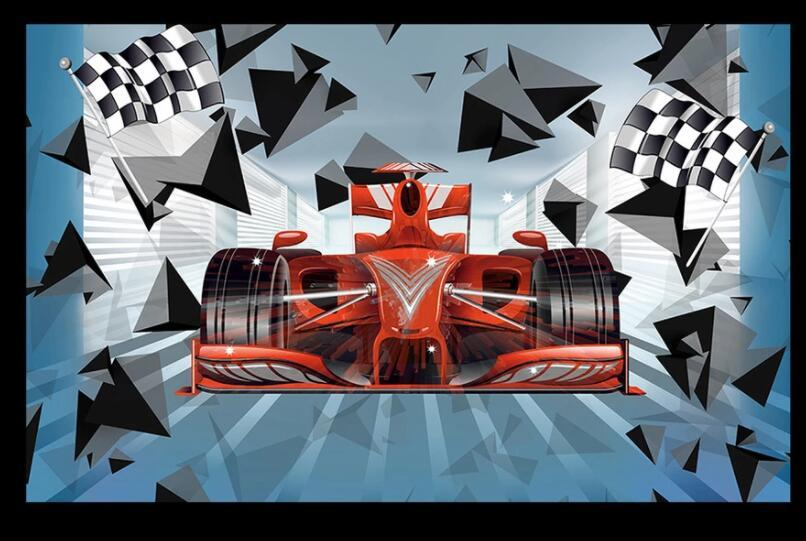 WDBH Custom photo 3d wallpaper Space F1 Racing Car Drifting Tooling decor living room 3d wall murals wallpaper for walls 3 d