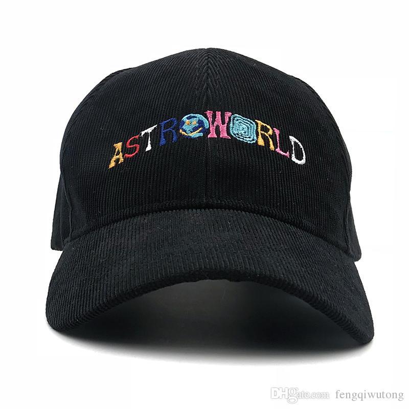 Dad Hat Travis Scott Astroworld Baseball Cap Corduroy Snapback Cap  ASTROWORLD For Men Women Hip Hop Bone Garros Snapbacks Big Hats Hat Stores  From ... 1fdaaba99e0c