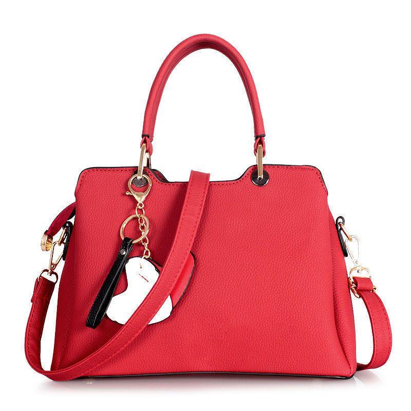 Qualité Femme Rouge Mode Acheter Main Pour Sac Bonne Sacs À c4RL35AjqS
