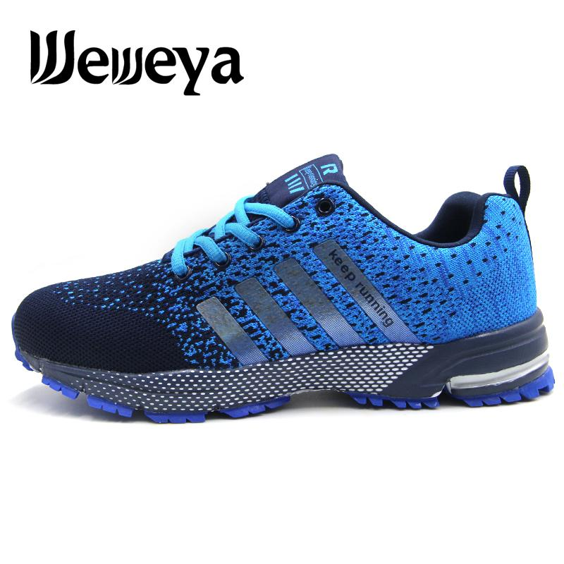 san francisco b6fec d9404 Cheap Men Running Shoes Breathable Outdoor Sports Shoes Lightweight  Sneakers for Women Comfortable Athletic Training Footwear
