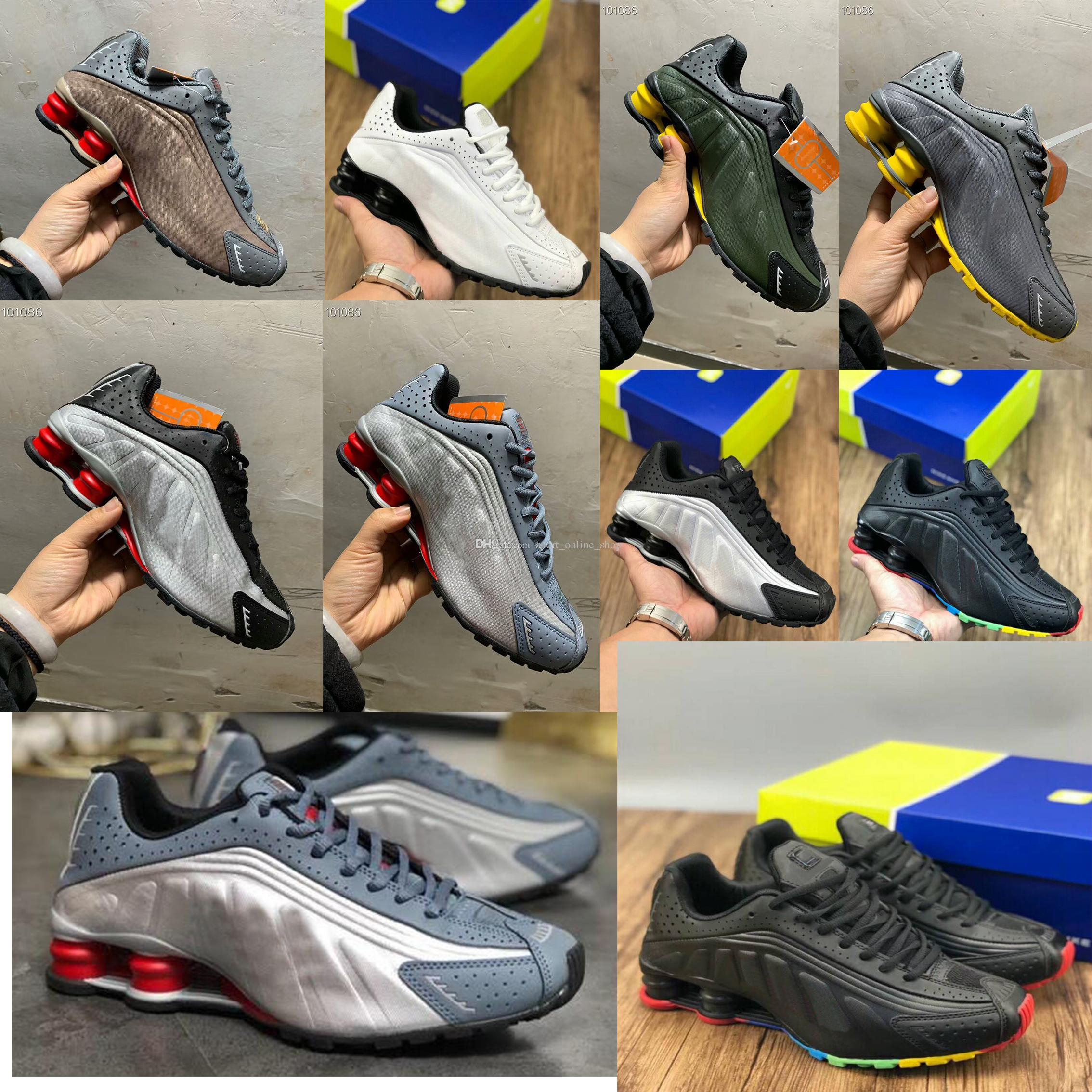 706695f5 Acheter 2019 Nouveau Zapatos Hombre Shox Hommes Chaussures De Sport  Chaussures R4 Nz Hommes Designer Sneakers Homme Sport Trianers Tn Tailles  Eur40 45 De ...
