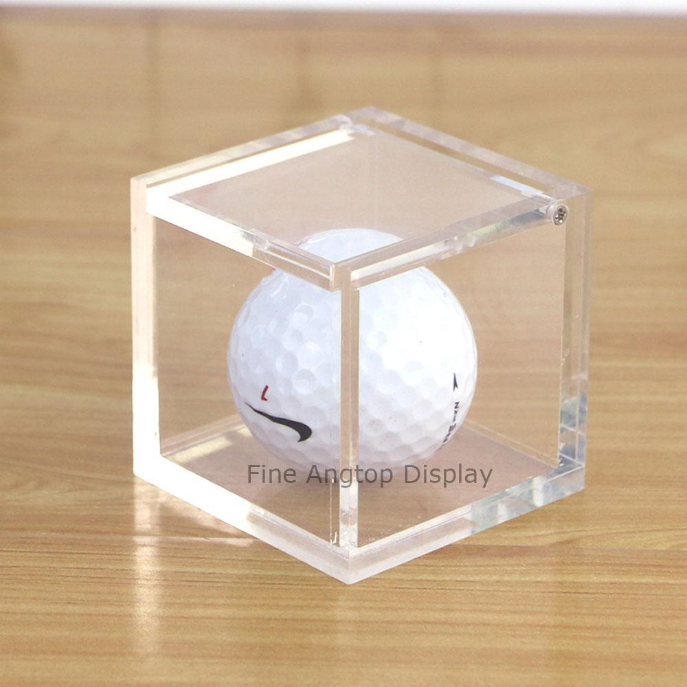 10x10x10cm Plastic Acrylic Transparent Wedding Gift Storage Box