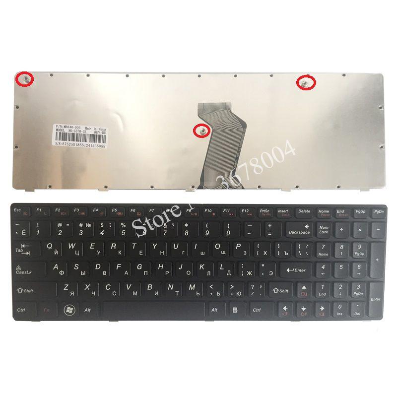 fdb199af86d NEW Russian Keyboard for IBM LENOVO Ideapad G560 G560A G565 G560L RU ...