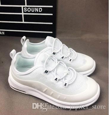 Acquista Nike Air Max 98 Scarpe Bambini Kids 98 Scarpe Da Corsa Og Triple  White Bambina Ragazzi Metallic Gold Silver Bullet Pink Sneaker Da Uomo A   57.32 ... 725db58338e
