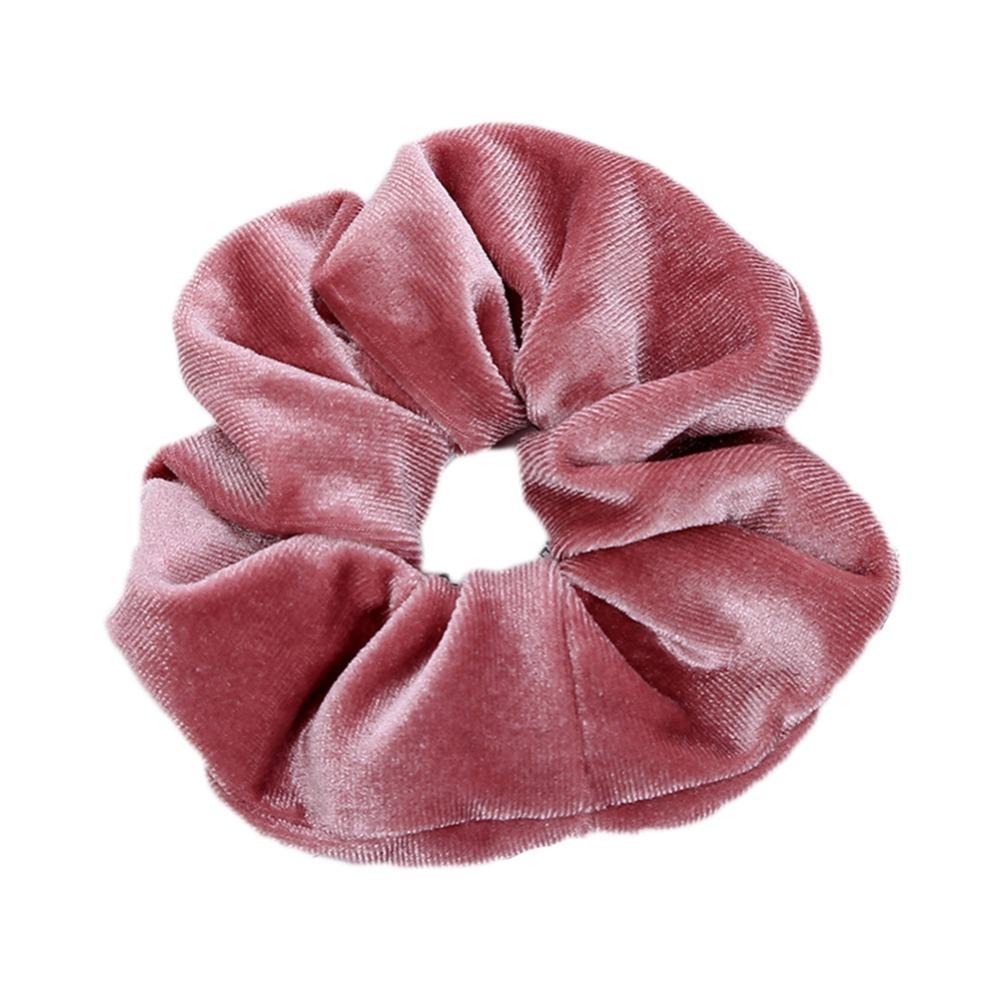 1 Stück Samt Haargummis Gummibänder Krawatten Seile Für Frauen Mädchen Nett